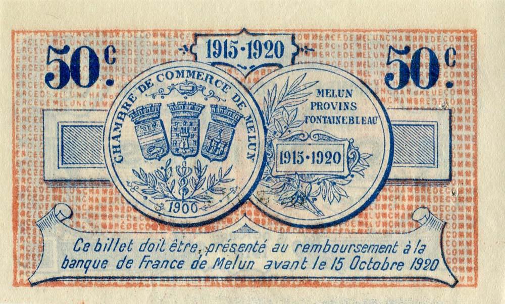 Billets de n cessit 1914 1918 melun seine et marne chambre de commerce de melun - Chambre de commerce melun ...