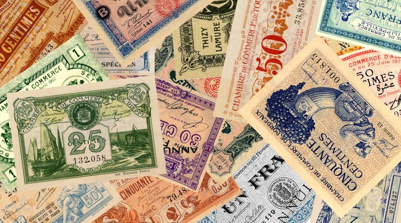 Les Billets mis Par Les Chambres De Commerce Par Franois Hde