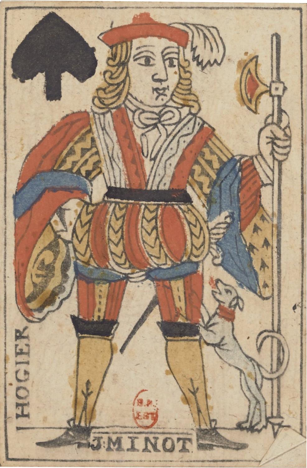 origine jeux de cartes
