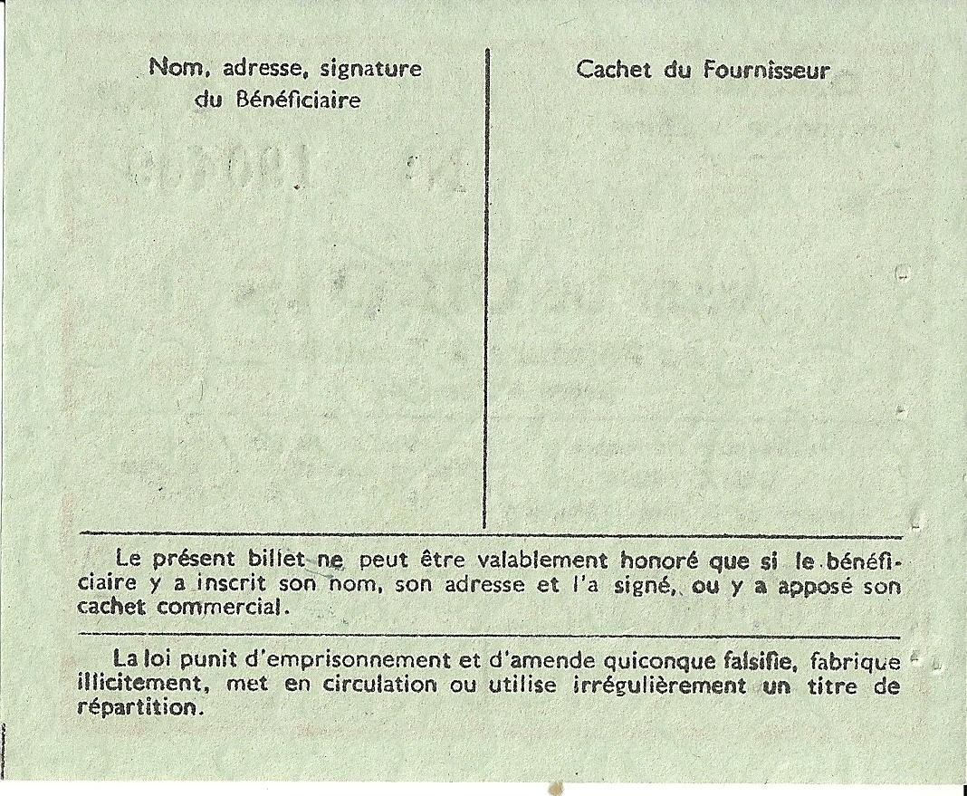 Section de la Chimie - BILLET DE CINQ kgs de Peinture 2e Famille prête à l'emploi - 190 409 - DOS