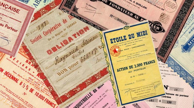 Actions et obligations de l'Aude par Jacques Roussel