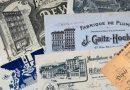 Factures illustrées d'entreprises industrielles de Paris et de ses banlieues  (19e et 20e siècles) par Alain Faure