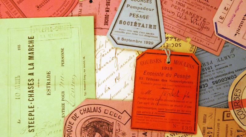 Répertoire des cartes d'entrée – Hippisme