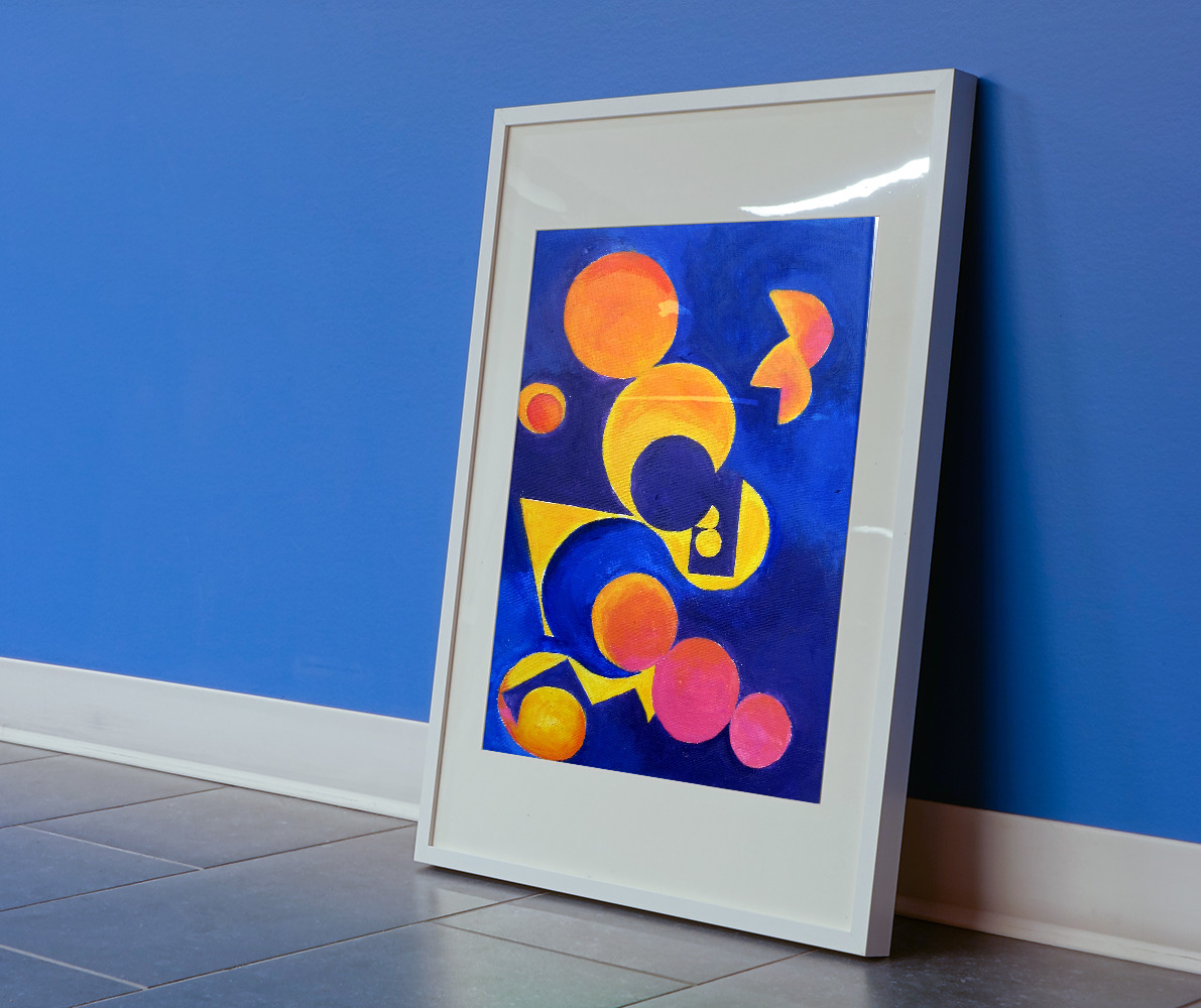tableau-abstrait-acrylique-night